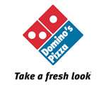Domino's Pizza - take a fresh look logo