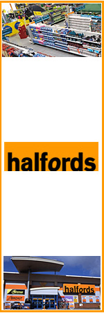Halfords - the UK's leading retailer of car maintenance, car enhancement and leisure products