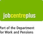 JobCentre Plus logo - Department of Work and Pensions