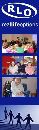 reallifeoptions - a voluntary organisation, supporting people with learning disabilities to live their lives