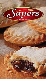Sayers the Bakers logo